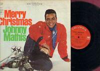 Mathis, Johnny - Merry Christmas Vinyl LP Record Free Shipping