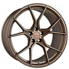 "4ea 19"" Staggered Stance Wheels SF07 Satin Bronze Rims (S5)"