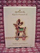 2009 - Dasher and Dancer - Hallmark ornament