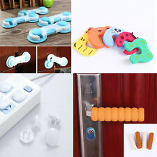 50 in 1 Baby Safety Set, Door Handle+Drawer Lock+Socket Outlet Plug+Door Stopper