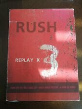 Rush - Replay (Exit Stage, Grace, Show of Hands 3 DVDs + Bonus CD Grace Tour) VG