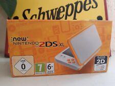 console jeux  vidéo - New Nintendo 2DS XL  Blanche et Orange - NEUF - en boite -