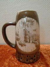 DDR Keramik Andenken Krug Frankfurt Oder - Vintage - um 1960/70 - Höhe 19 cm