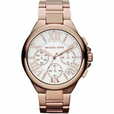 NEW GENUINE MICHAEL KORS MK5757 LADIES CAMILLE CHRONOGRAPH WATCH ROSE GOLD