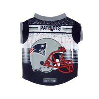 New England Patriots NFL Dog Pet Performance Tee Sizes XS-XL