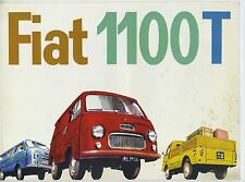 (36B) CATALOGUE FIAT 1100 T