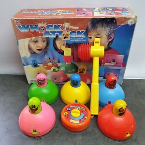 Vintage Whack Attack Game Boxed Complete - Peter Pan Playthings Vintage 1988