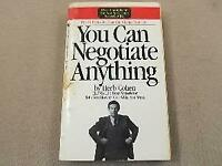 You Can Negotiate Anything Mass Market Paperbound Herb Cohen