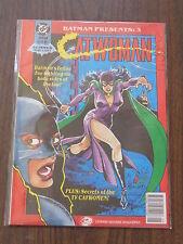 BATMAN PRESENTS #3 CATWOMAN DC BRITISH MAGAZINE SUMMER MAY 1991^