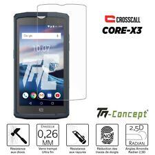 Crosscall Core X3 - Verre trempé TM Concept® - Gamme Crystal