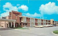 Tifton GA~Carport by Lobby of Thunderbird Motel~1970s Postcard