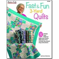 Fast & Fun 3 Yard Quilts by Donna Robertson for Fabric Cafe