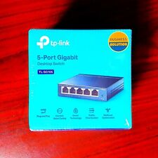 TP-Link TL-SG105 5-Port Gigabit Ethernet 1000Mbps Desktop Switch - New & Sealed