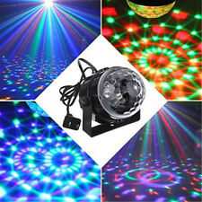 DJ Lighting LED Crystal Magic Ball Projector Stage Show Light Club RGB Disco KTV
