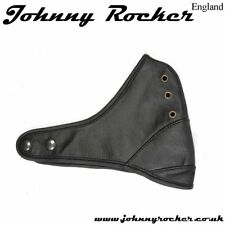 Johnny Rocker Classic style helmet Black or Brown davida leather open face mask