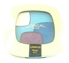 L'Oreal Paris Color Riche Quad Eyeshadow Luminous Midnight P17