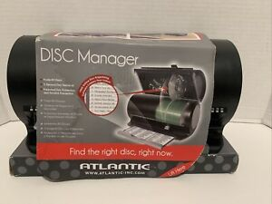 Atlantic 8501-2055 Disc Manager 80 Cd Storage Drumstnd Holds 80 Cds