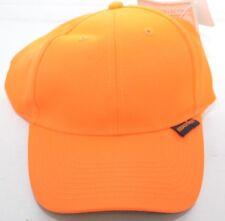 Realtree Orange Hunting Hat Cap Paramount Outdoors Hook & Loop Back NEW