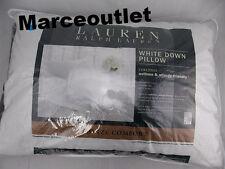 Ralph Lauren Bronze Comfort White Down STANDARD / QUEEN Pillows