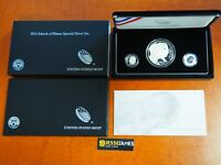 2015 MARCH OF DIMES SPECIAL SILVER SET W PROOF P REVERSE DIME & DOLLAR DM5