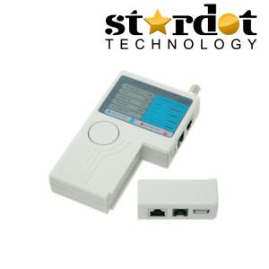 Remote Cable Tester RJ11/RJ12/RJ45/USB/BNC