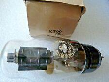 KT66 Osram Black Plate Shoulder Foil Getter Valve Tube New Old Stock 1pc FEB20A