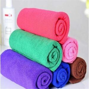 1pcs Wholesale High Quality Microfiber Absorbent Drying Bath Washcloth Towel#Q