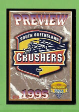 1994 Series 2 RUGBY LEAGUE CARD #215  SOUTH QUEENSLAND CRUSHERS   PREVIEW