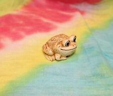 Pot Bellys® Lillie™ Frog Toad Figurine Trinket Treasure Box w/Removable Back