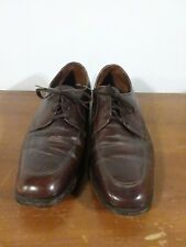 The FLORSHEIM Shoe Richfield Brown Moc Toe Blucher Lace-up Oxfords Mens 10