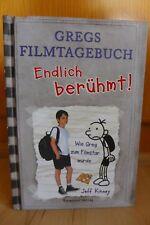 Gregs Tagebuch Filmtagebuch Endlich berühmt! - Jeff Kinney - sehr gut !!