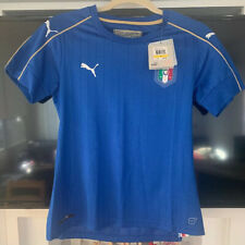 Puma Women's FIGC Italy Home S/S Replica Jersey Medium NWT Italia