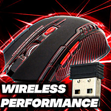 2.4GHz Wireless Gaming Mouse With USB Receiver Gamer 2000DPI