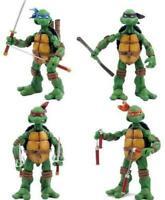 """Teenage Mutant Ninja Turtles Cartoon Version Set of 4 Action 5"""" Figures  26"""