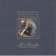 J. SEWARD JOHNSON JR. exposition de sculptures. Première expo. en Suisse 1995
