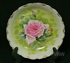 Vintage Antique Bawo & Dotter Elite Works Limoges Cabbage Rose Vegetable Bowl