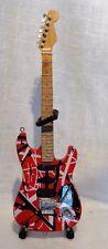 Eddie Van Halen Frankenstein Miniature Replica Guitar