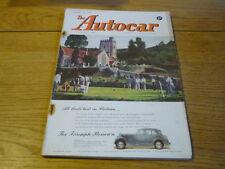 AUTOCAR MAGAZINE 15.6. 1951 FERRARI 212 ROAD TEST  jm