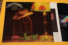 DON WILLIAMS LP LISTEN TO THE RADIO-1°ST ORIG ITALY 1982 NM ! MAI SUONATO