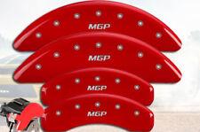 "2012-2017 NV3500 NV 3500 Front + Rear Red ""MGP"" Brake Disc Caliper Covers 4pc"