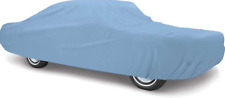 OER Diamond Blue Indoor Car Cover 1970-1972 Plymouth Cuda Barracuda