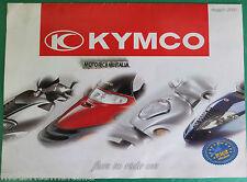 KYMCO  SCOOTER 2000 POSTER  DEPLIANT BROCHURE  PUBBLICITA PROSPEKT RECLAME