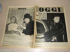 OGGI=1960/4=GUASTALLA RENATA TEBALDI=TAZIO SECCHIAROLI=JEAN JACQUES SEMPE=