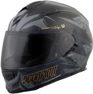 Scorpion Exo-T510 Full-Face Cipher Helmet Black Gold