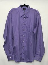 ARROW MEN'S DRESS SHIRT LONG SLEEVE WRINKLE FREE SIZE 17.5 XL 36/37
