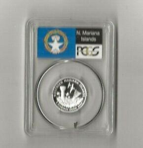 2009 s silver Northern Mariana Islands quarter PCGS PR 69 DCAM (flag label)