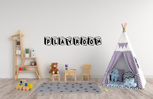 Playroom Quote Decor Wall Art Decal Sticker Q170