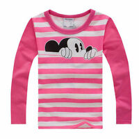 Comfortable Kids Boys Disney Cartoon Tops T-shirt Summer Cotton Casual Shirt New