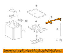 TOYOTA OEM 14-16 Corolla 1.8L-L4 Battery-Hold Down Tie Bracket Clamp 7440402380