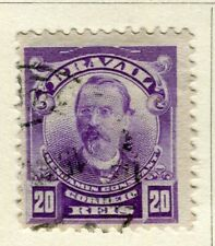 BRAZIL; 1906 early Portraits issue fine used 20r. value
